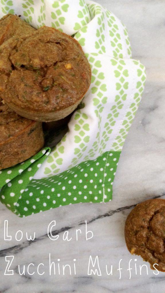 Low Carb Sugar Free Zucchini Muffins | Meat Free Keto